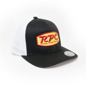 RPC® Yellow/Red Logo Hat – Black/White