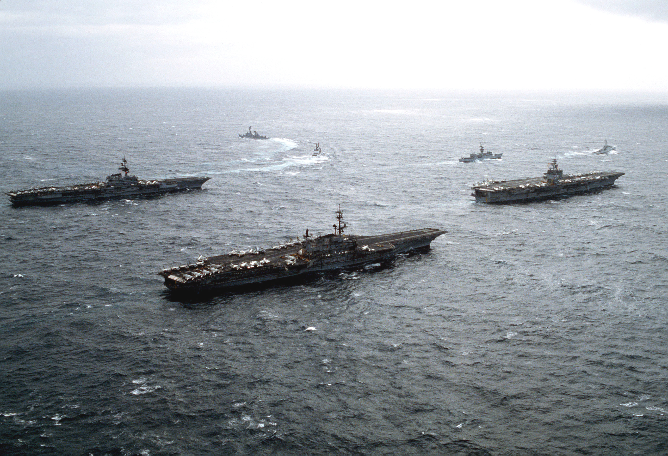 Enterprise Cv Uss 41 Coral Cv Midway Uss Uss 65 Sea 43 Cv