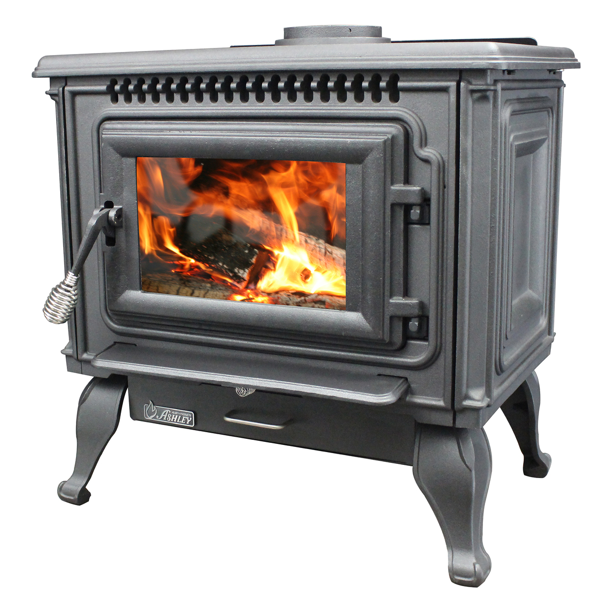 2 000 Sq Ft Epa Certified Cast Iron Wood Stove With Blower Us