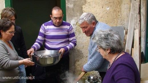 San Giuseppe  Controllo cottura Pasta e cec