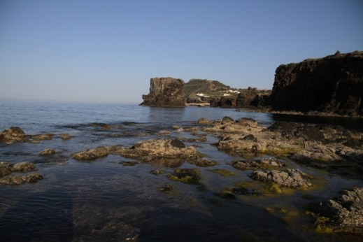 Zona Faraglioni - bassa marea