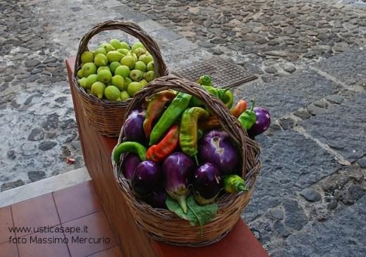 Melenzane, peperoni e fichi
