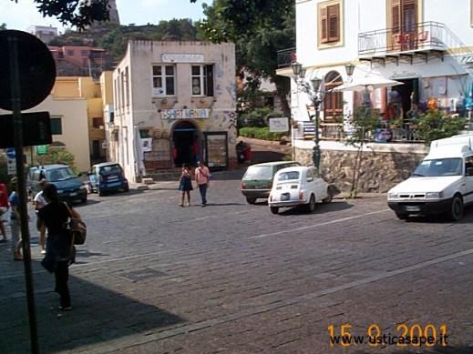 Ustica, angolo Piazza Umberto I