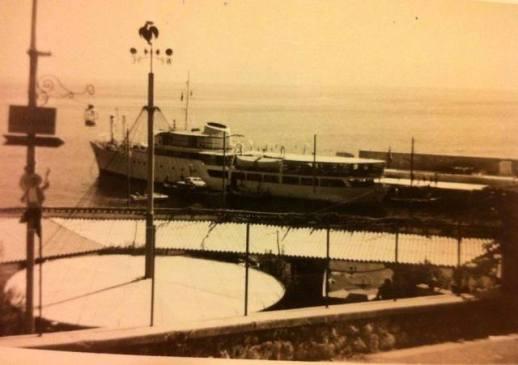 Ustica 1962  - Faraglione e Nuova Ustica