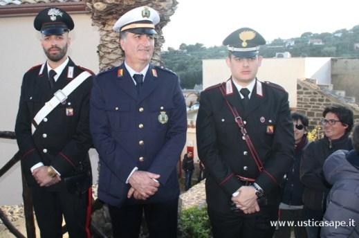 Autorità a segiuto processione Venerdi' Santo