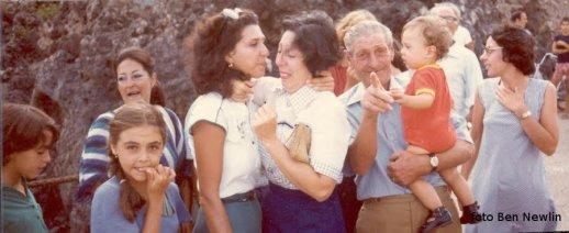 Partenza da Ustica italo americani - 1979