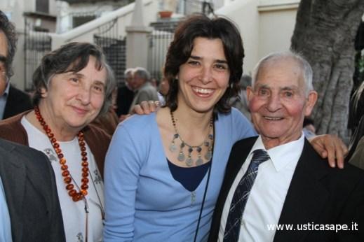 Nonno Pasqualino con Marisa e Margherita