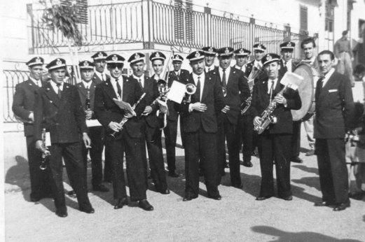 Banda Musicale di Ustica - 1958