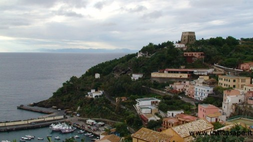 Panorama con vista montagne Sicilia