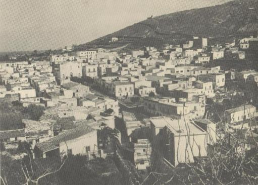 Ustica, veduta paese 1950