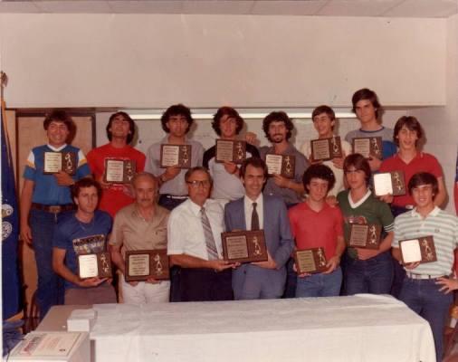 Squadra di Baseball - premiata con targa ricordo