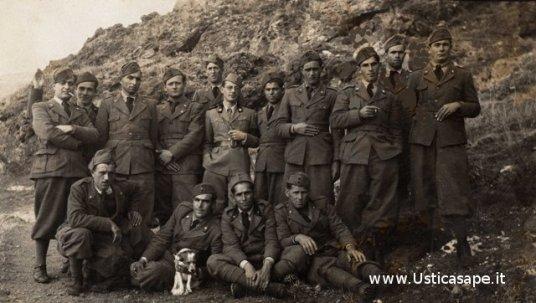 Militari usticesi, in servizio ad Ustica, agli ordini del Ten Patti