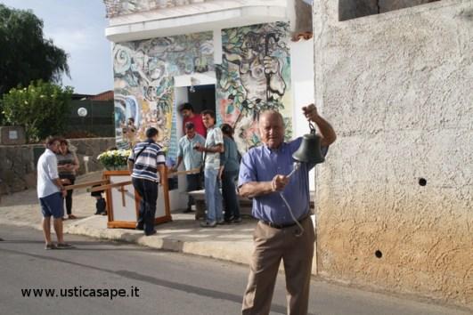 """Il """"campanaro"""" invita i fedeli per la processione di San Bartolicchio"""