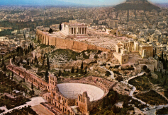 The Acropolis of Athens, with the Parthenon (click to see larger image)