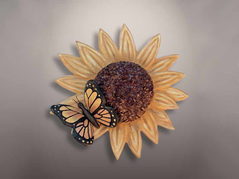 Flower Cremation Urns For The Gardener Or Flower Lover