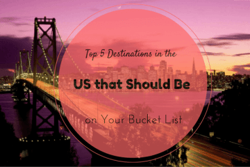 Top 5 Destinations in the US