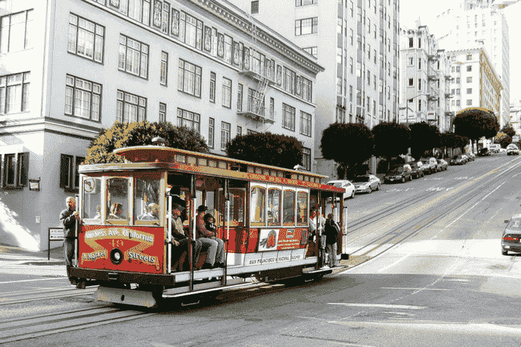 Ride on the Cable Car, San Francisco