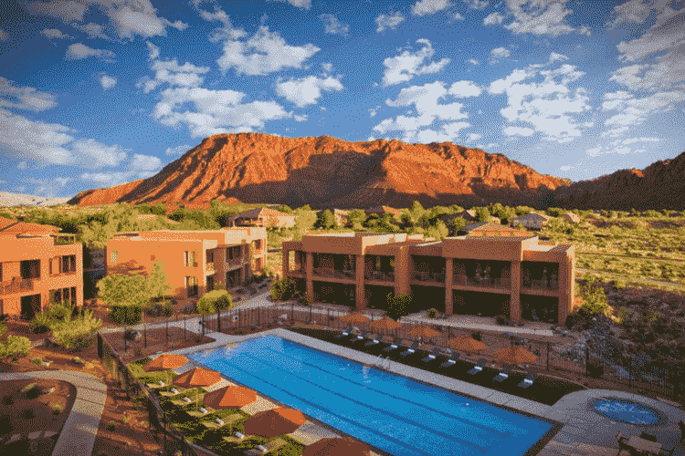 Red Mountain Spa, St. George, Utah
