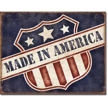 plaque metal made in america