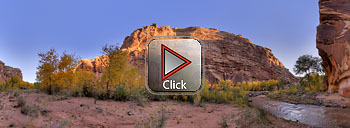 360 degree panoramic view in Capitol Reef