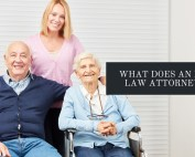 what does an elder law attorney do