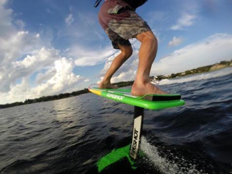 Wakefoil Hover Glide