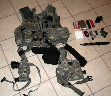 Combat Vest sml