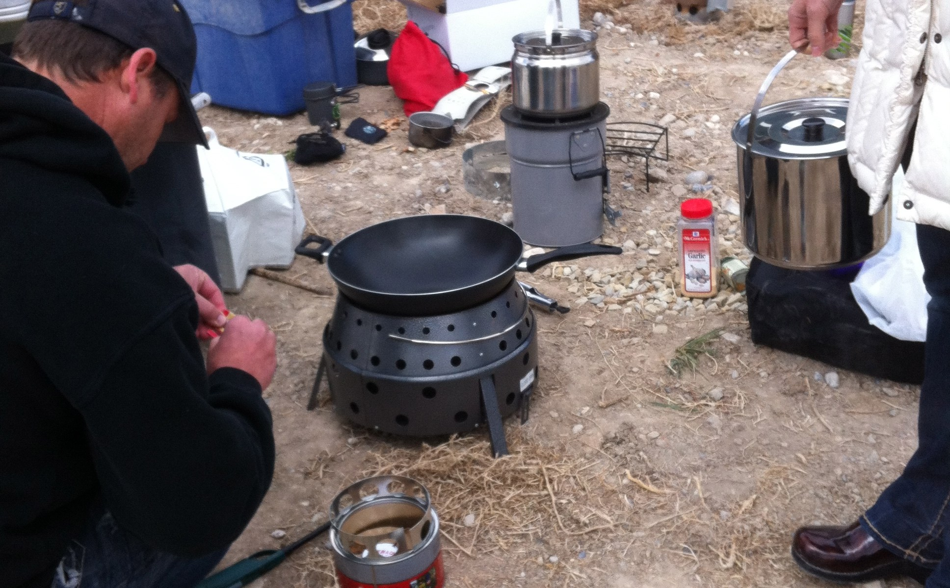 UtahPreppers stove test