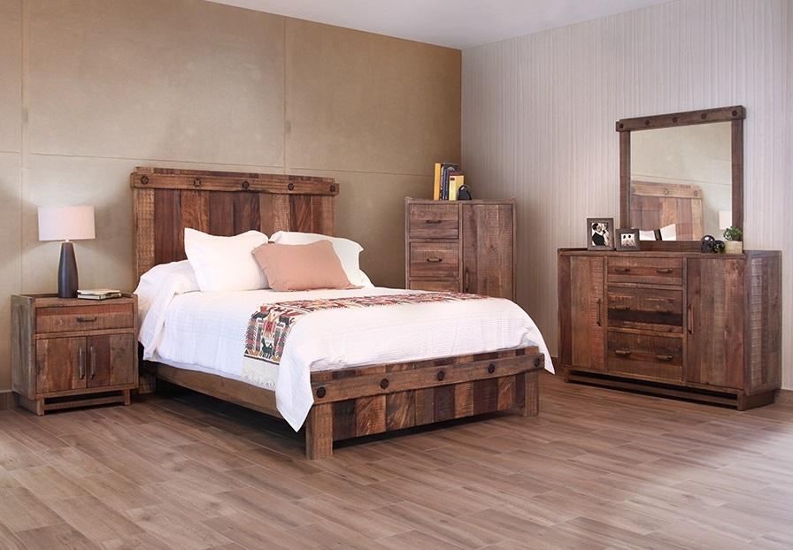 bradley's furniture etc. - utah rustic bedroom furniture