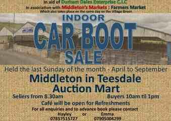 Carboot sale Landscape   advert 2015