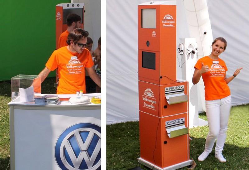 Daumenkino Event Wolfsburg - Volkswagen und FLIP-BOOK Langzeitmiete