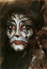 "Ute as Grizabella in ""Cats"" in Vienna, 1983/84"