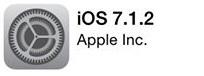 Aktualizace iOS 7.1.2