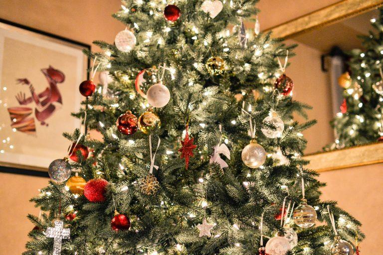 Parte di un albero di Natale