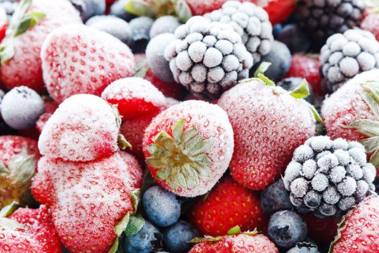Frutti di bosco congelati