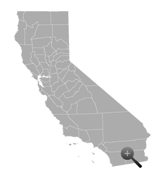 California Mini Map