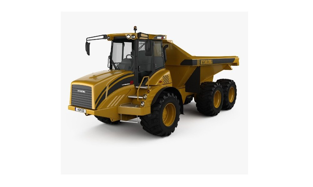 20 tonns hjuldumper