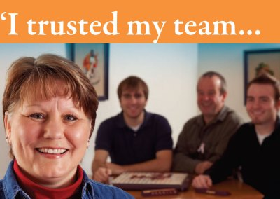 Oncology Alliance Testimonial Campaign