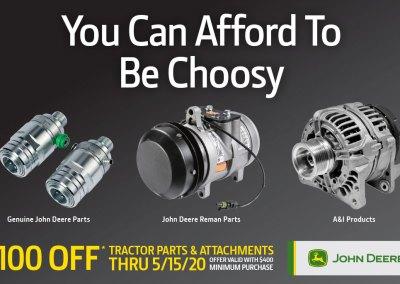 John Deere Value of Choice