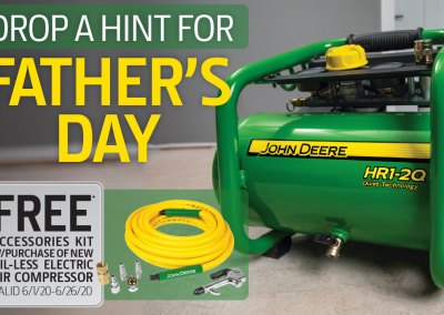 John Deere Father's Day Promotion