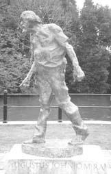 Augustus John Statue Picture