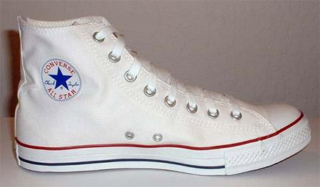 Bele All Star Converse Patike