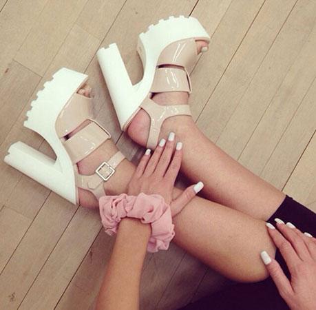 Treba nositi – Sandale sa platformom