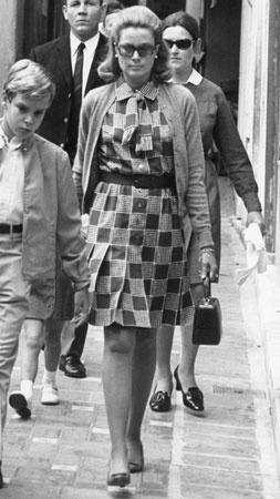 10. Oktobar 1969, Grace sa sinom Albertom, koji je sada vladar Monaka