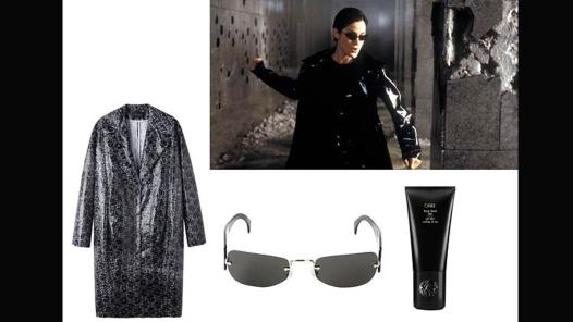 Carrie Anne Moss u filmu The Matrix
