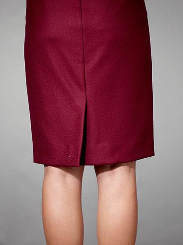 Olovka suknja sa prorezom
