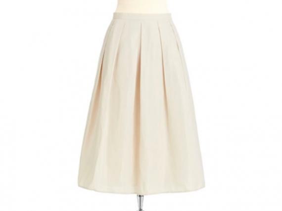 A-line midi suknje