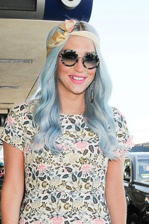 Kesha serenity plava boja kose