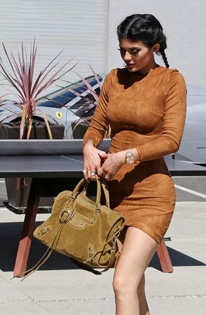klasicna Balenciaga plisana torba