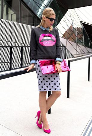 bluza sa pop art printom